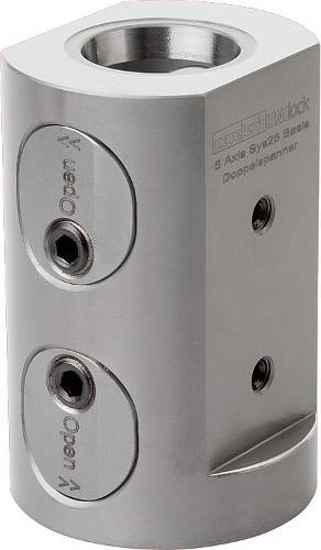 Module de base double 5 axes UNI lock à pas de 50 mm