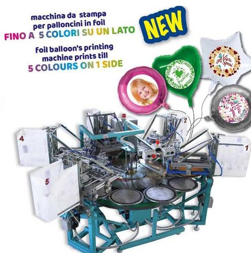 BALLOON PRINTING MACHINES