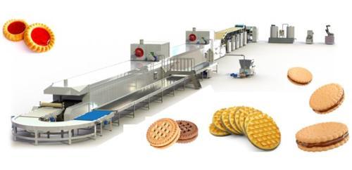 Ligne de production pour biscuits