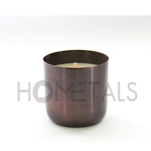Scented Candles in Antique Copper Containers