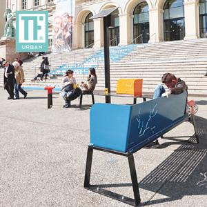 Urban Connected Bench - Banki