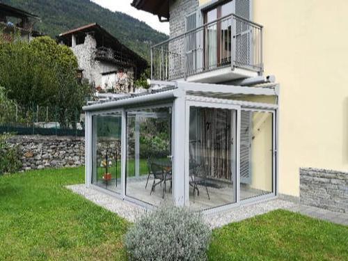 Verande in alluminio e vetro