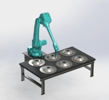 Akıllı Robotik Yüzey İşleme