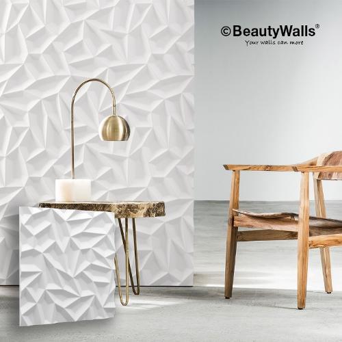 3D Wall Panels - Ice