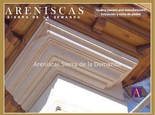 Arenisca Dorada Elementos arquitectónicos en Piedra Natural