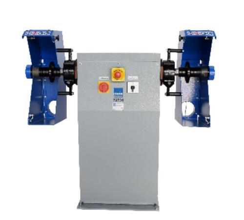 Double sided belt grinder and polishing machine type 72730