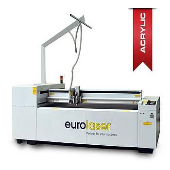 Laser cutting system for acrylic