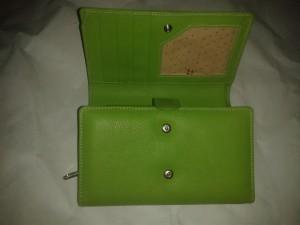 Ladies purse in Leather
