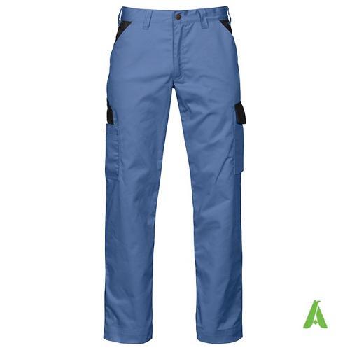 Pantalone da lavoro di alta qualita' con tasche laterali
