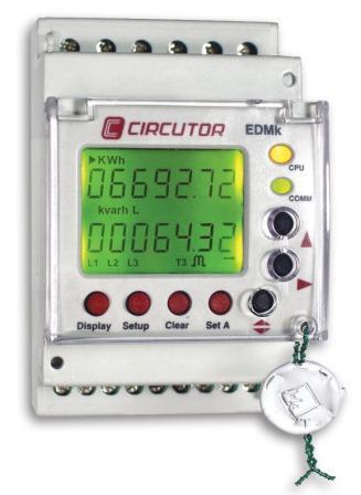 EDMk - Compteur divisionnaire d'énergie triphasée RS485