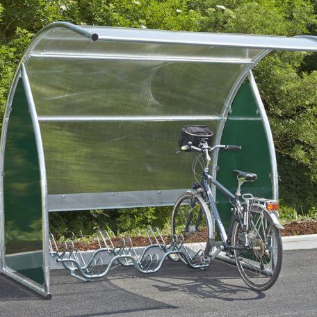 Abri 6 Vélos-moto Modulable