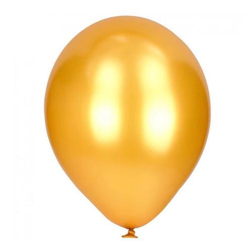 Latex Ballonnen Metallic Goud