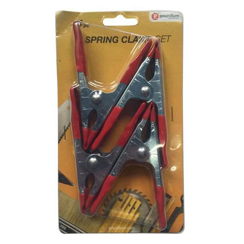 4 Pack Metal Spring Clamps