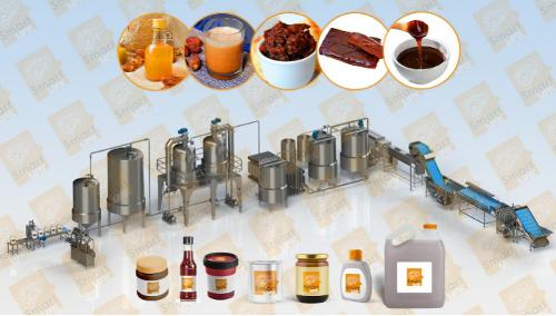 Dates Molasses Production and Filling Line