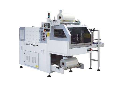 Automatische bundelmachine Smipack, Type BP 800AR/802AR , met krimptunnel