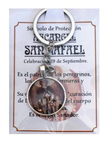 LLAVERO ARCÁNGEL SAN RAFAEL