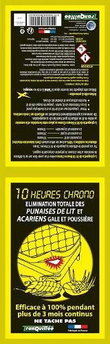 10 HEURES CHRONO ANTI PUNAISES DE LIT