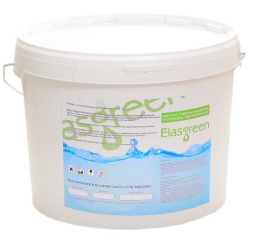 Мастика гидроизоляционная Elasgreen