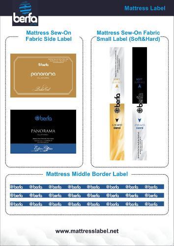 Mattress Label & Mattress Sticker & Bed Label & Bed Sticker