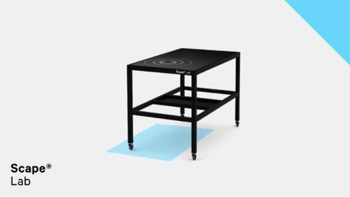 Scape® Lab - Multitouch table