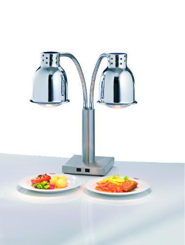 Buffet heat lamp double