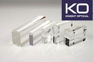 Knight Optical's  ranges of custom Light Guides