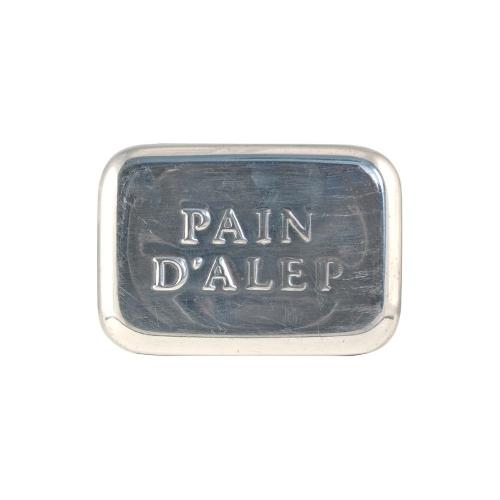 Boîte À Savon Pain D'alep En Aluminium