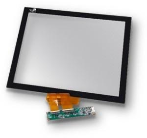 Touchscreen auf Glas