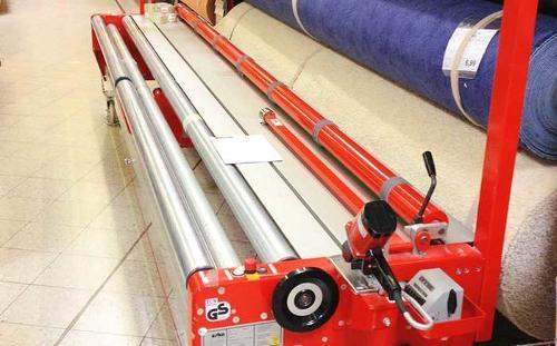 Bodenbelags-Mess- und Schneidemaschine