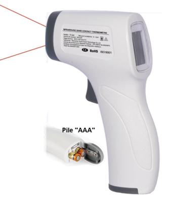 Thermomètre Frontal - Mesure De Température Par Infrarouge