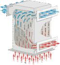Plate heat-exchanger