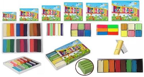 340700 - Modelling clay for school in sets
