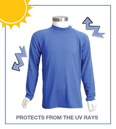 T-shirt with UV protection
