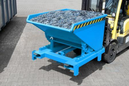 Heavy duty tipper type SK, forklift truck attachment
