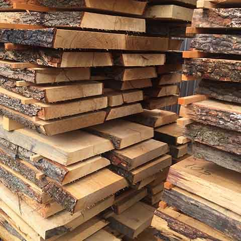 Oak Timber Unedged