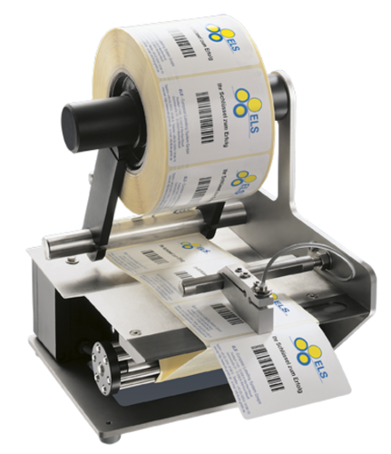 Electric label dispenser