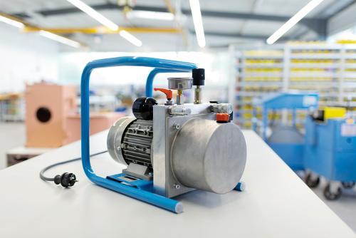 Kompakt- Hydraulikaggregat für mobile und stationäre...