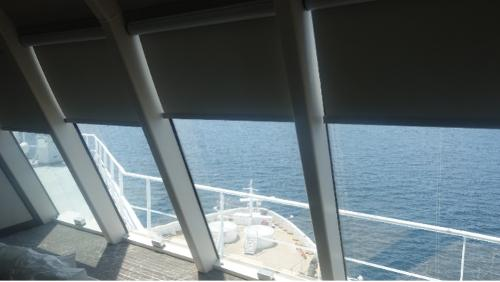 Blackout Privacy Blind for ships / boats