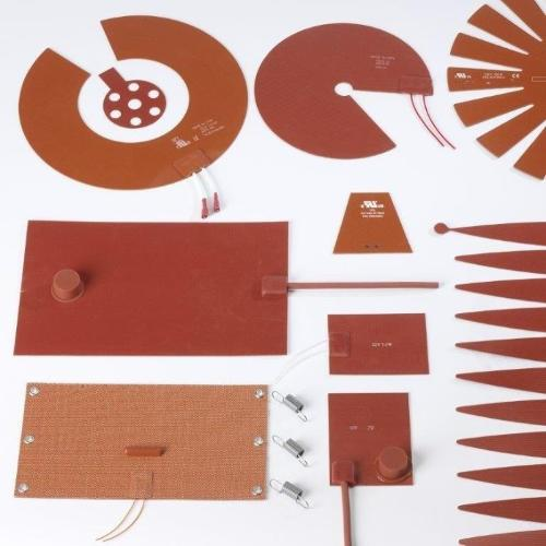 Riscaldatori in silicone etched foil e wire wound