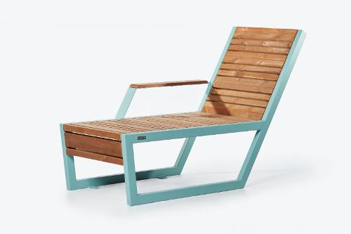 Bench «Boston» (Sun lounger) right armrest