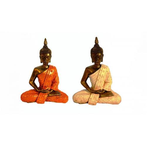 Buda Thai En Posición De Meditación 30cm (precio Por Unidad)