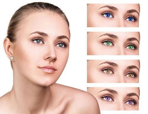 Magic Eyes : Lentilles De Couleur Sans Correction, Journalières Ou Pour 3