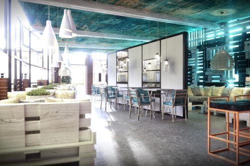 Interior design for restaurants, cafes and bars