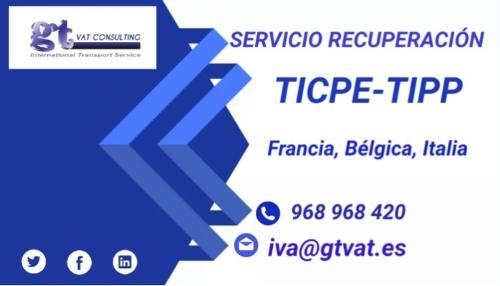 SERVICIO RECUPERACIÓN TIPP EUROPA