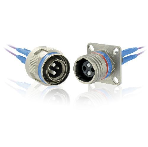 Connecteur optique à faisceau élargi (GRIN)