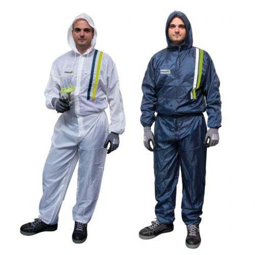 Polyester spray overall