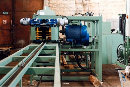Брусовальный станок для тонкомера СРТ320