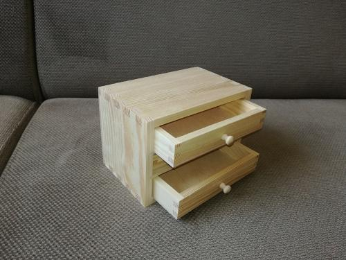 Pudełko z szufladkami