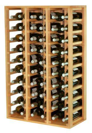 Botellero con capacidad para 66 botellas