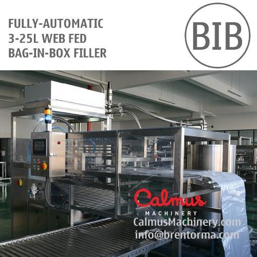 5 Litre 10 and 20 Litre WEB Fed Bag in Box Filler